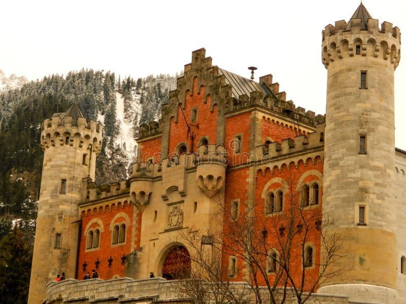 Neuschwansteinkasteel royalty-vrije stock foto's