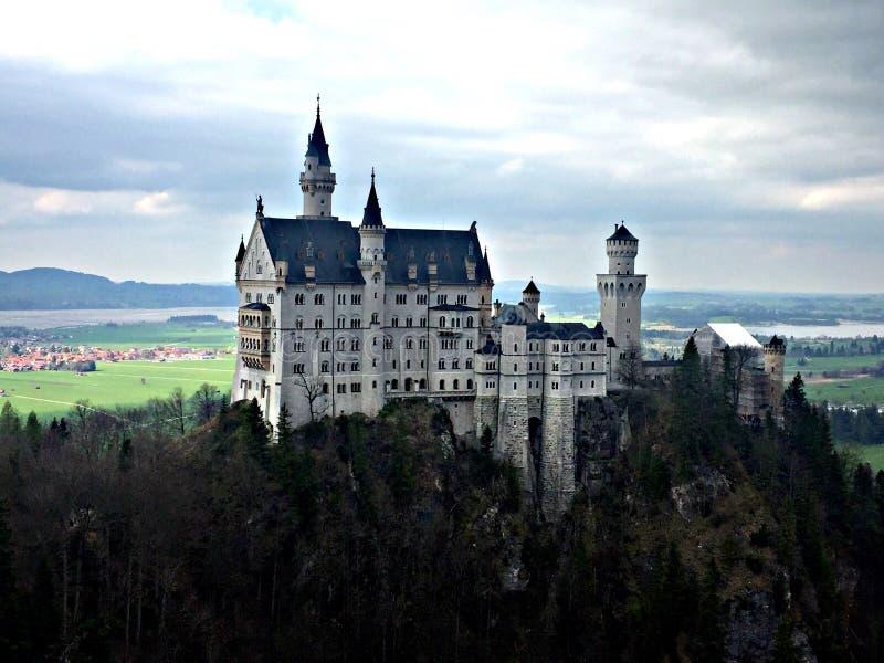 Neuschwansteinkasteel in Beieren royalty-vrije stock fotografie