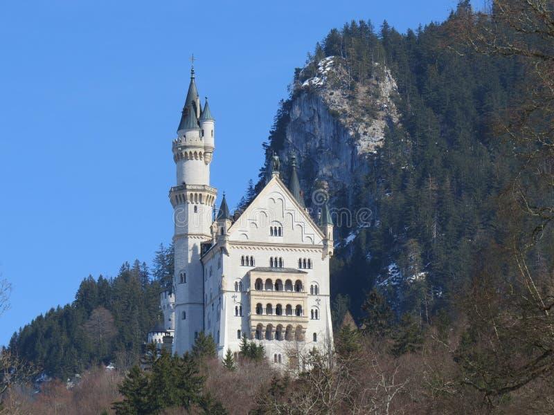 Neuschwansteinkasteel, Beieren stock foto