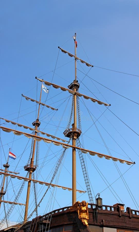 Download Neusdeel Van Een Varend Schip Stock Afbeelding - Afbeelding bestaande uit petersburg, neus: 39104573