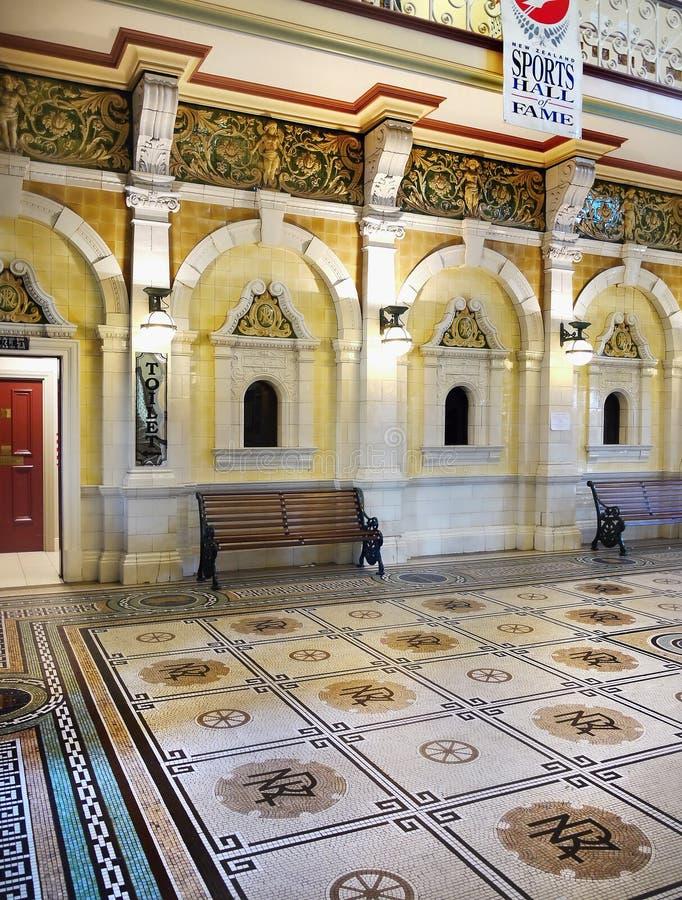 Download Neuseeland, Dunedin, Historischer Bahnhof Redaktionelles Bild - Bild von park, historisch: 96926210