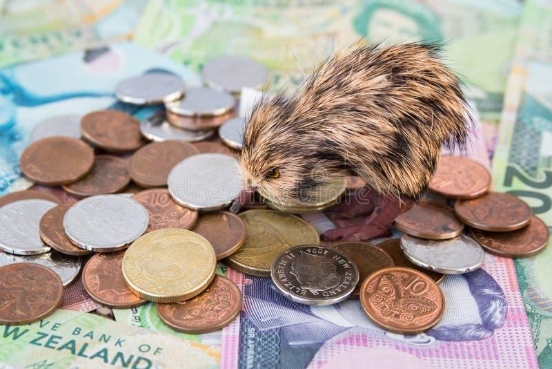 Neuseeland-Geld stockfotografie
