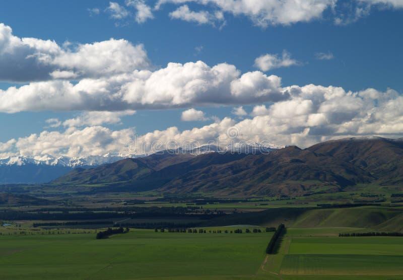 Neuseeland-Grafschaftsland stockbilder