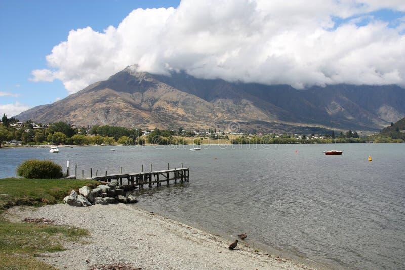 Neuseeland - Wakatipu lizenzfreie stockfotos