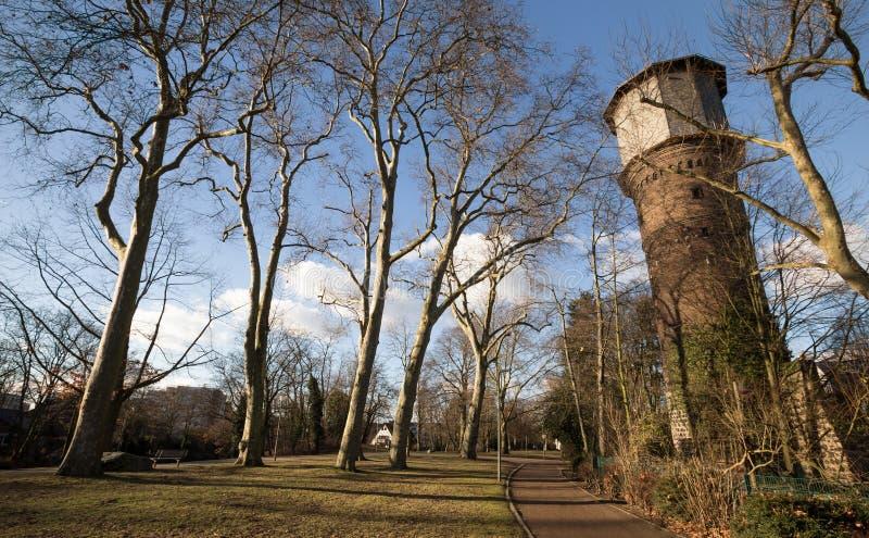 Neuss Alemania de la torre del molino de viento imágenes de archivo libres de regalías