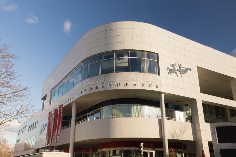 Neuss Alemania del teatro del país fotografía de archivo libre de regalías