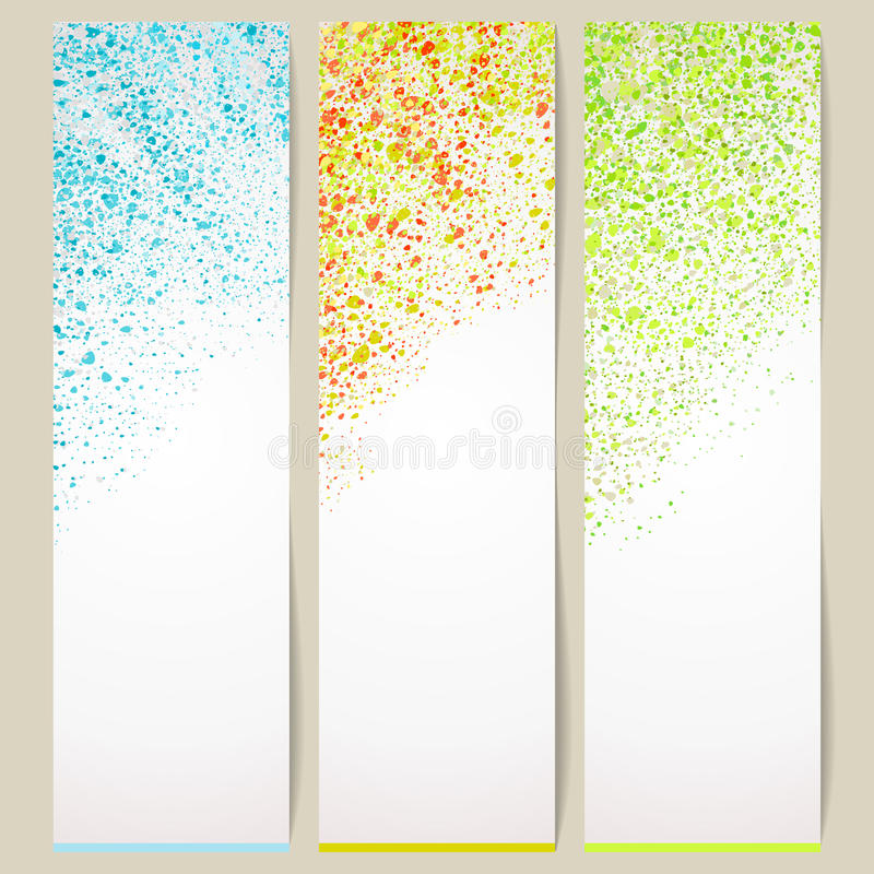 Neutral banner. Banner with a neutral background. A vector vector illustration