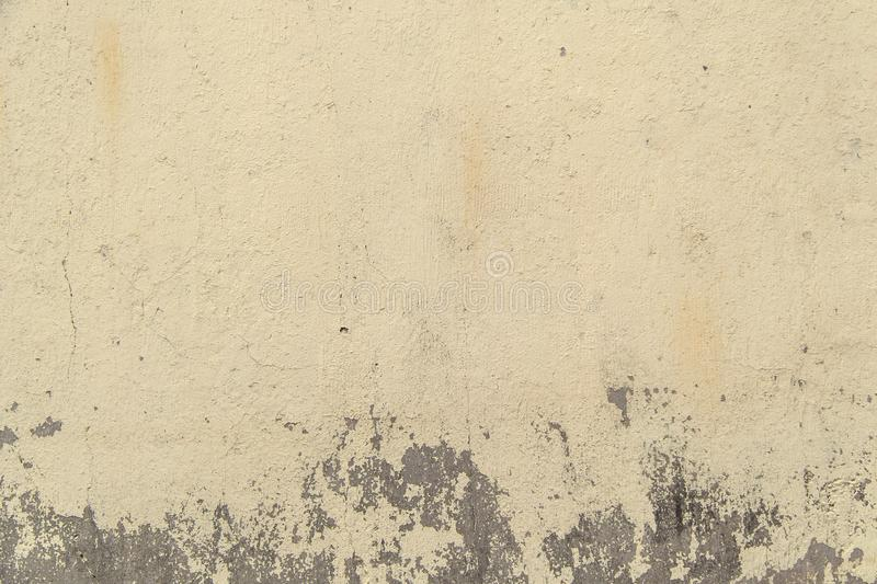 Neutral color textured concrete wall royalty free stock photo