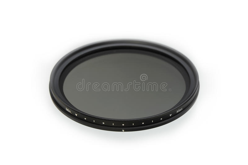 Neutral density photographic filter royalty free stock images