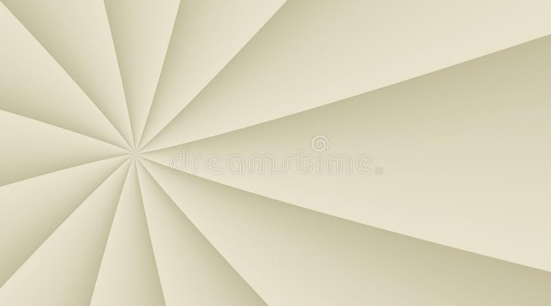 Neutral ivory white smooth rotating circling lines background illustration design. Computer generated abstract fractal background illustration featuring a vector illustration