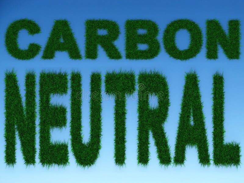 Neutrale koolstof vector illustratie