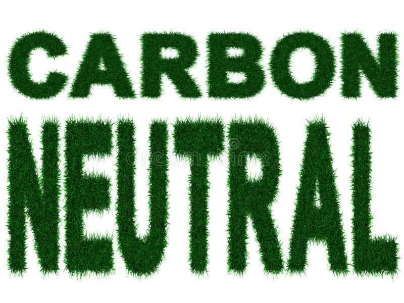 Neutrale koolstof royalty-vrije illustratie