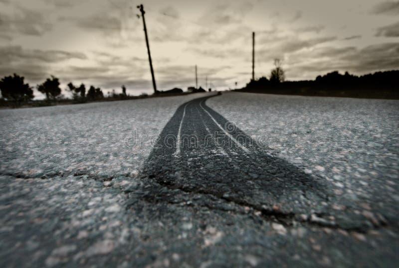 Neutralização do pneu da estrada imagem de stock
