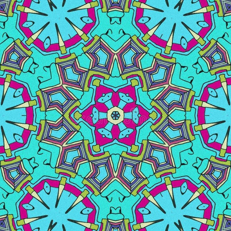Neuzendetails De samenvatting trekt met lichtblauwe kleuren stock illustratie