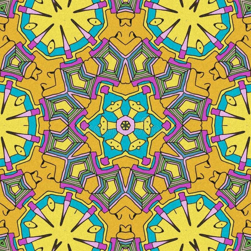 Neuzendetails De samenvatting trekt met lichte kleuren royalty-vrije illustratie