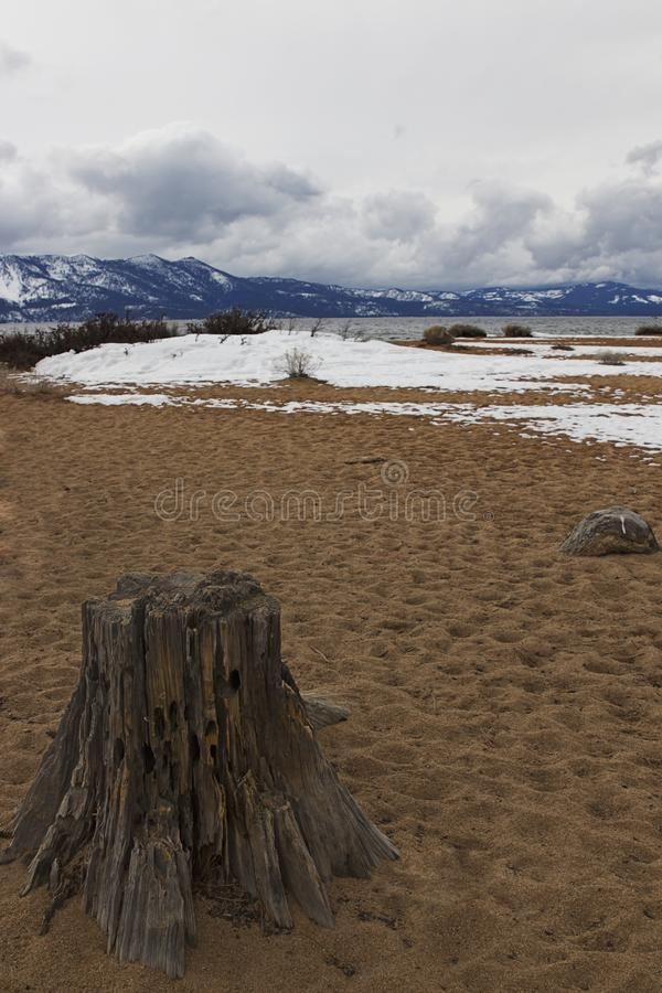 Nevada Beach Campgrounds foto de stock