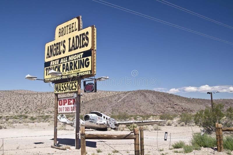Nevada Bordel obrazy stock