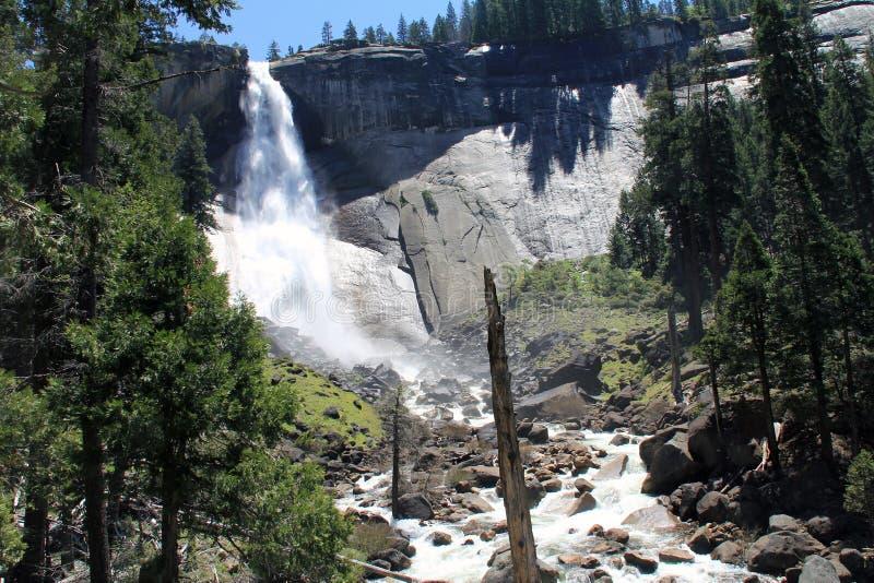Nevada Falls 2 royalty-vrije stock afbeeldingen