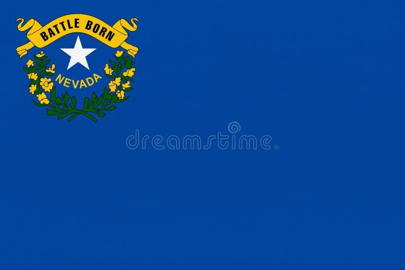 Nevada flaga obrazy royalty free