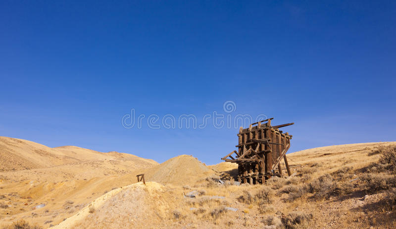 Download Nevada Ghost Town Ore Bin Royalty Free Stock Images - Image: 22760199