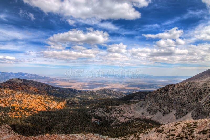 Nevada-Great Basin National Park-Wheeler Peak Trail royalty free stock images