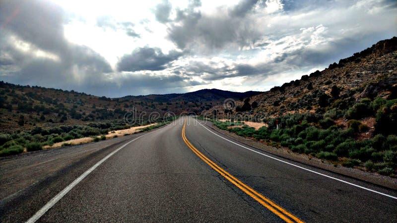 Nevada Highway immagini stock libere da diritti