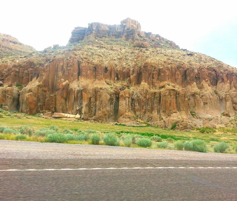 Nevada Hwy-318 arkivbilder