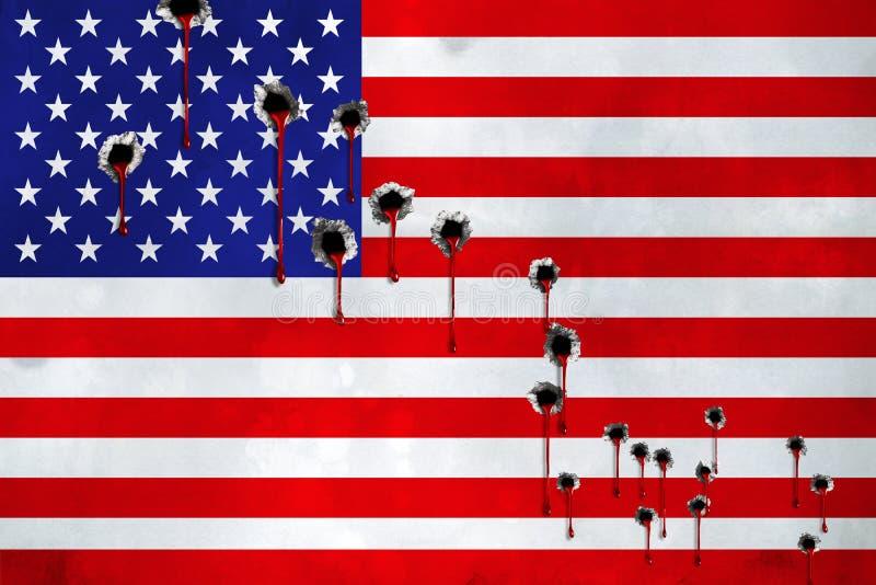 NEVADA, LAS VEGAS, 2 Oktober 2017 - de meest deadliest massa die in de geschiedenis van de V.S. schieten Minstens dode 50 Meer da stock foto