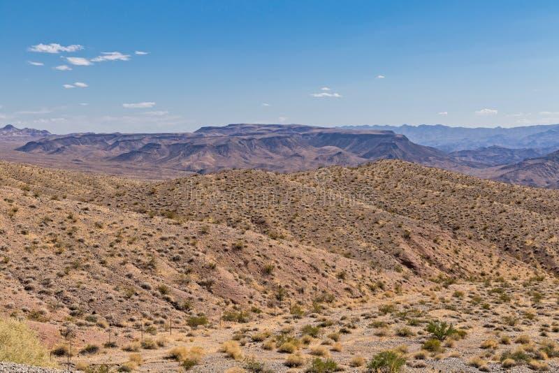 Nevada Mojave Desert Landscape Environment imagem de stock