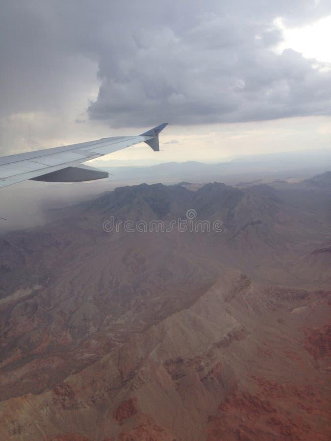 Nevada Mountain View royalty-vrije stock foto's