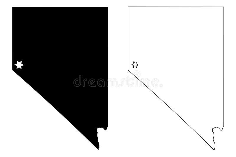 Nevada Outline Stock Illustrations 856 Nevada Outline Stock Illustrations Vectors Clipart Dreamstime