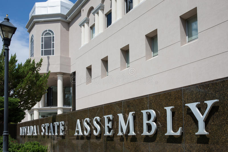 Nevada State Assembly image libre de droits