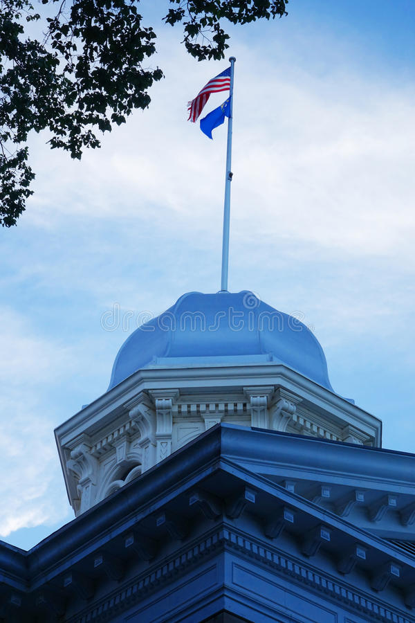 Nevada State Capitol - Carson City lizenzfreies stockfoto