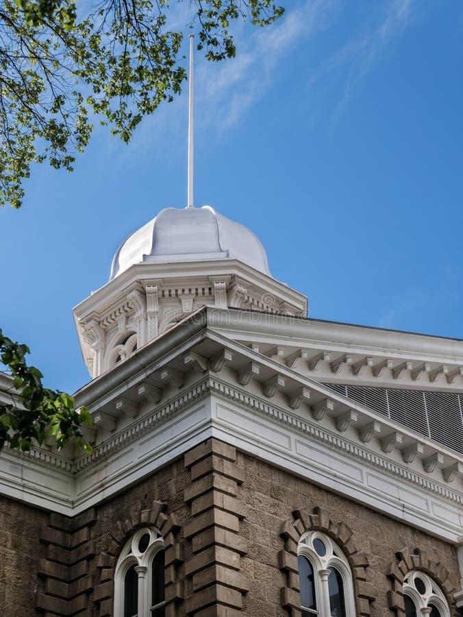 Nevada State Capitol Dome fotografia stock