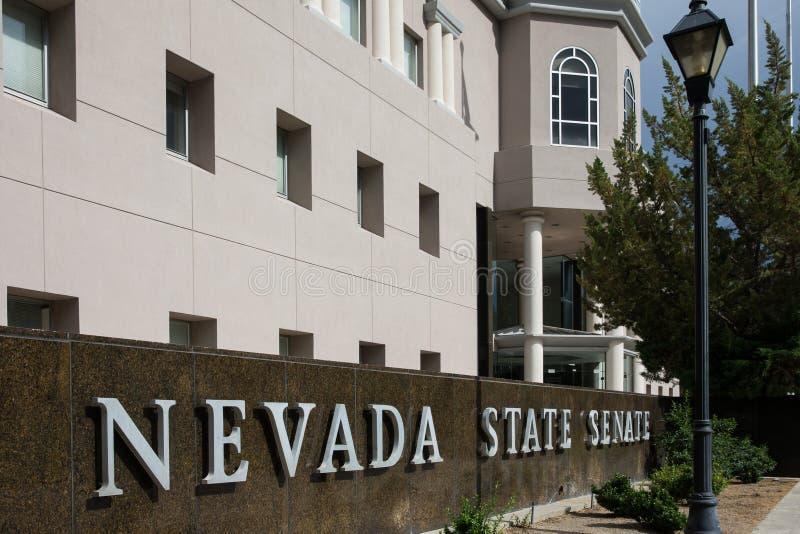 Nevada State Senate foto de stock royalty free