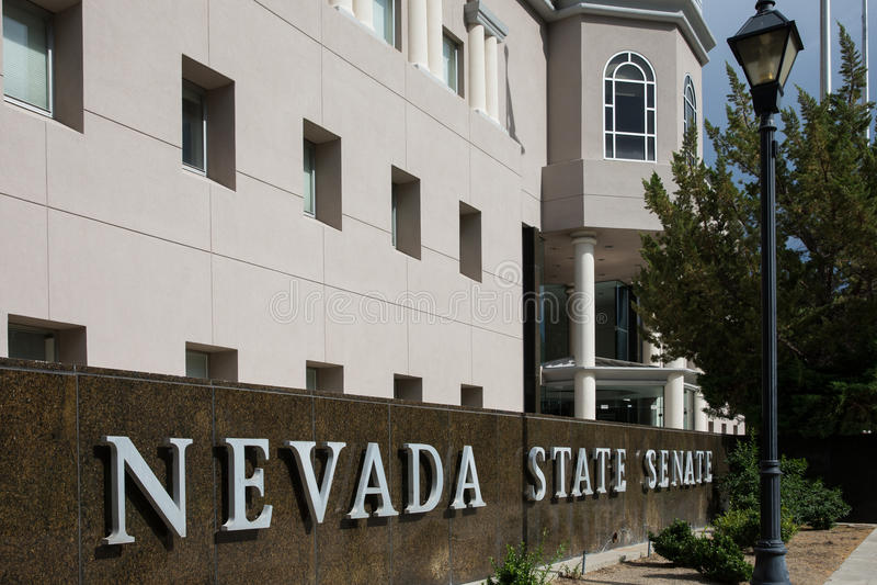 Nevada State Senate royalty free stock photo