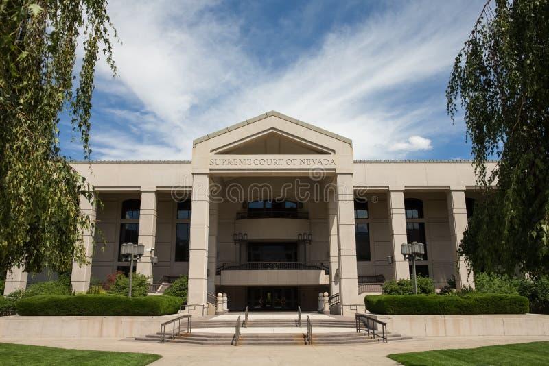 Nevada Supreme Court - horizontale photos libres de droits