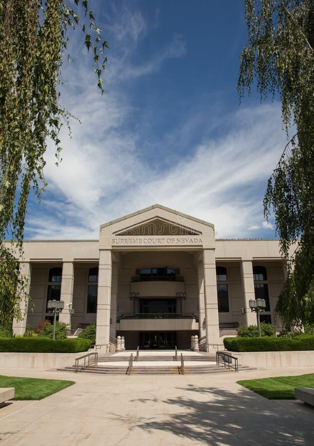 Nevada Supreme Court - verticale photographie stock