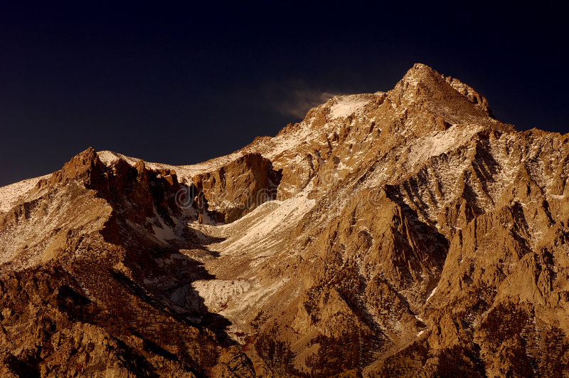 nevadas山脉 免版税库存图片