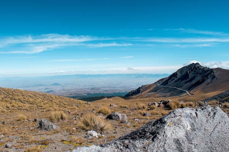 Nevado De Toluca zdjęcia royalty free