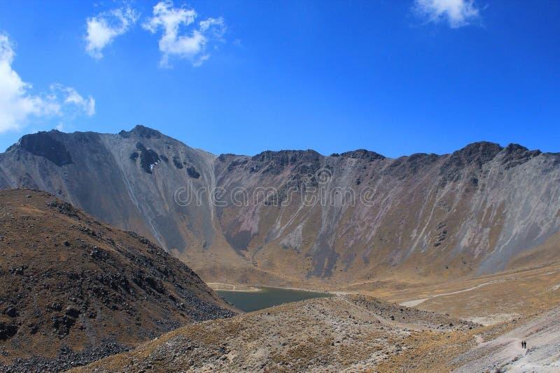 Nevado DE Toluca royalty-vrije stock afbeelding