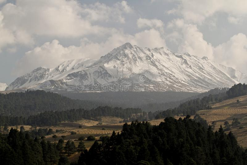 Nevado DE Toluca stock fotografie