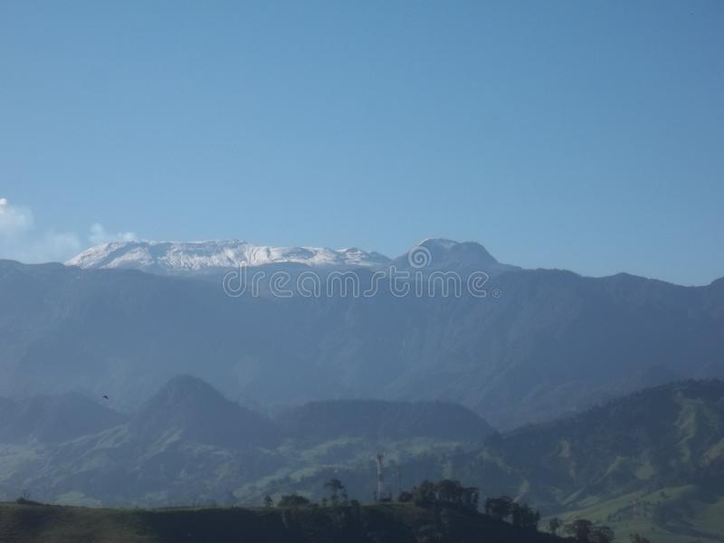 Nevado del Ruiz στοκ φωτογραφία