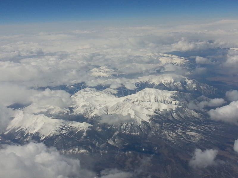 Nevado puede foto de archivo
