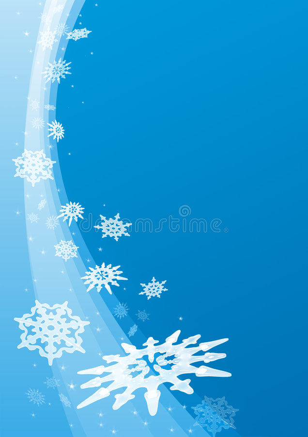 Neve illustrazione di stock
