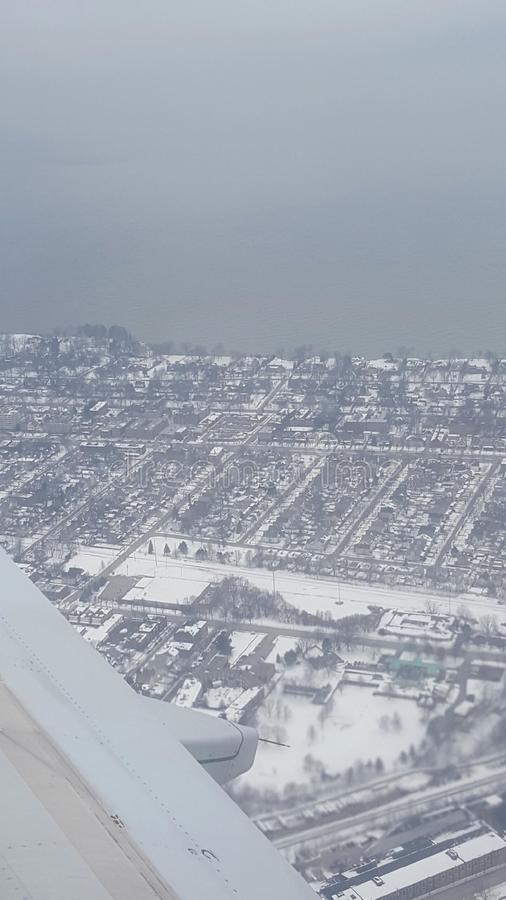 Neve adiantada fotografia de stock