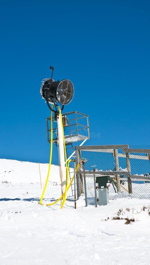 A neve cobriu o campo foto de stock