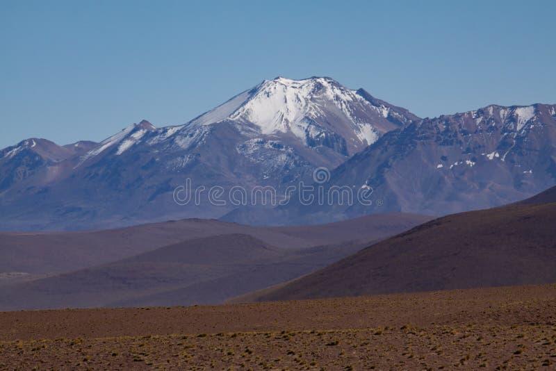 Neve das montanhas foto de stock royalty free