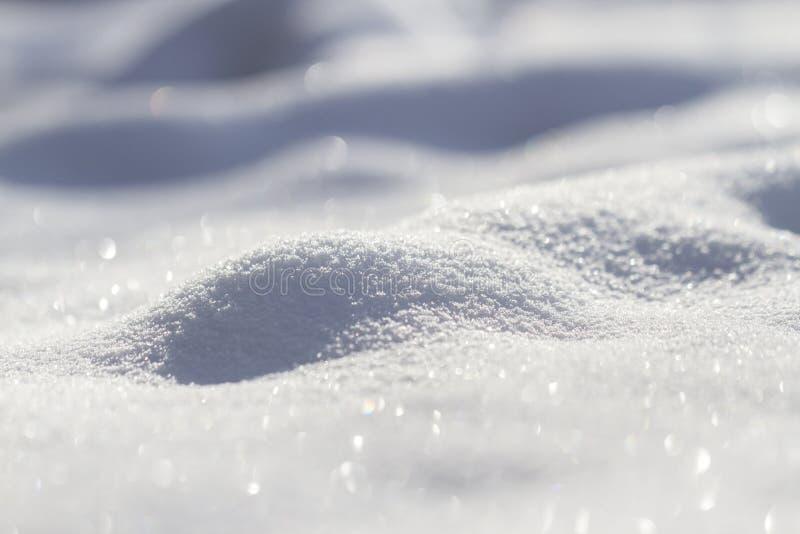 Neve de brilho imagem de stock