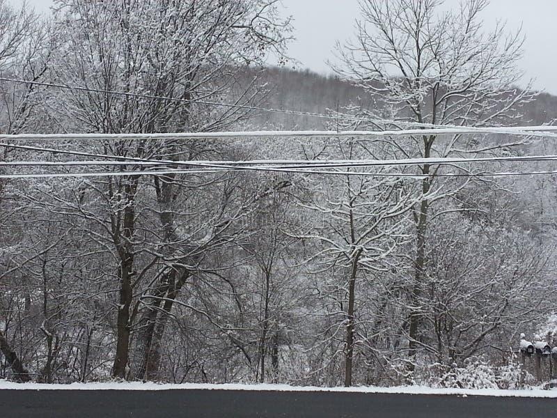 Neve della Pensilvania immagini stock